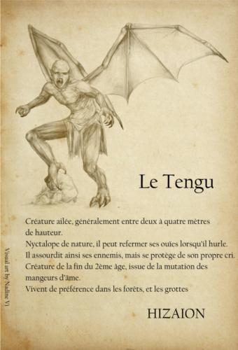Galerie personnages Tengu